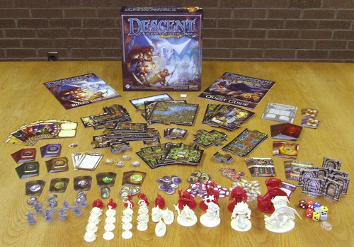 Descent: Journey in the dark 2nd Edition board game