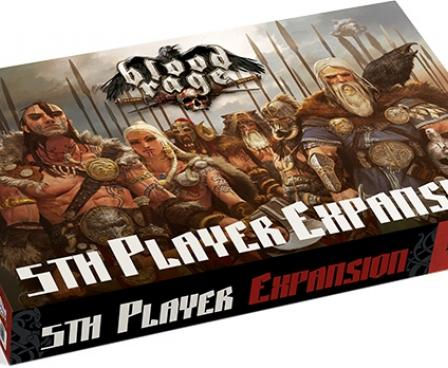 Blood Rage 5th Player Expansion Board Game | Monopolis