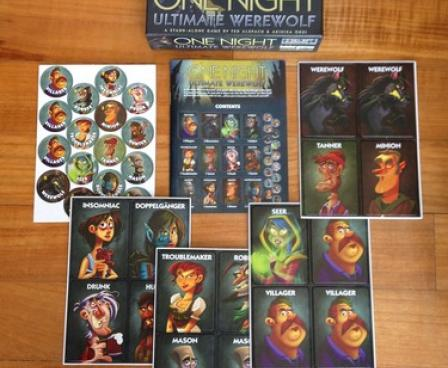 One Night Ultimate Werewolf Board Game | Monopolis - Toko